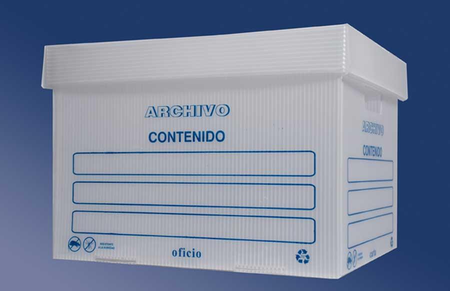 Airplast® Corrugado Plastico cajas para archivo
