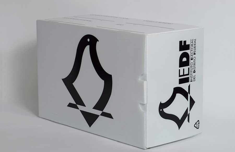 Airplast® Corrugado Plastico - urna electoral