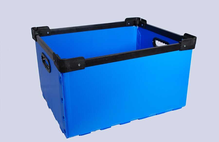 caja plegable airplast® Corrugado Plastico