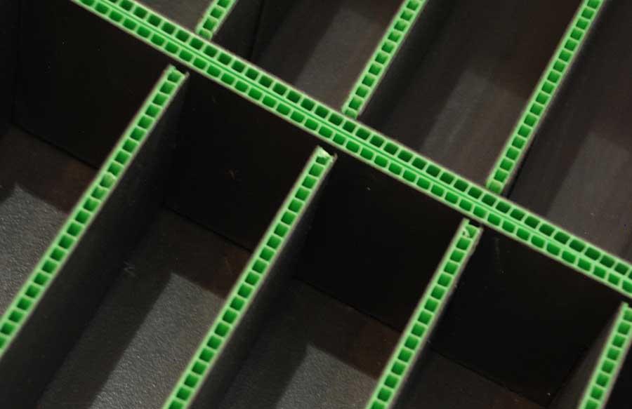 Airplast® Corrugado Plastico para la industria tecnologica
