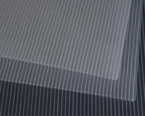 Airplast® Corrugado Plastico Lamina transparente