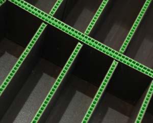 Airplast® Corrugado Plastico empaque para transporte electronicos