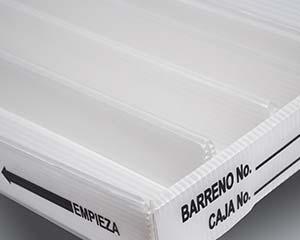 Airplast® Corrugado Plastico para la industria minera