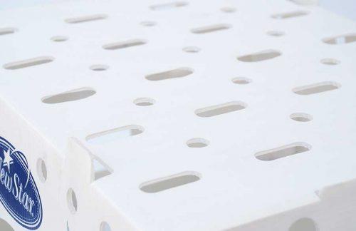 cajas para transporte de alimentos frescos