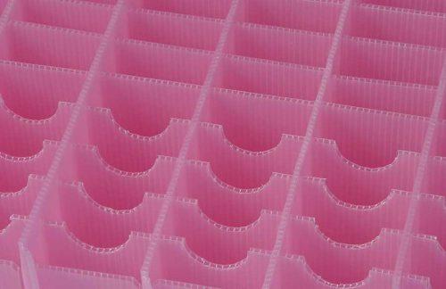 corrugado plastico para industria alimentaria