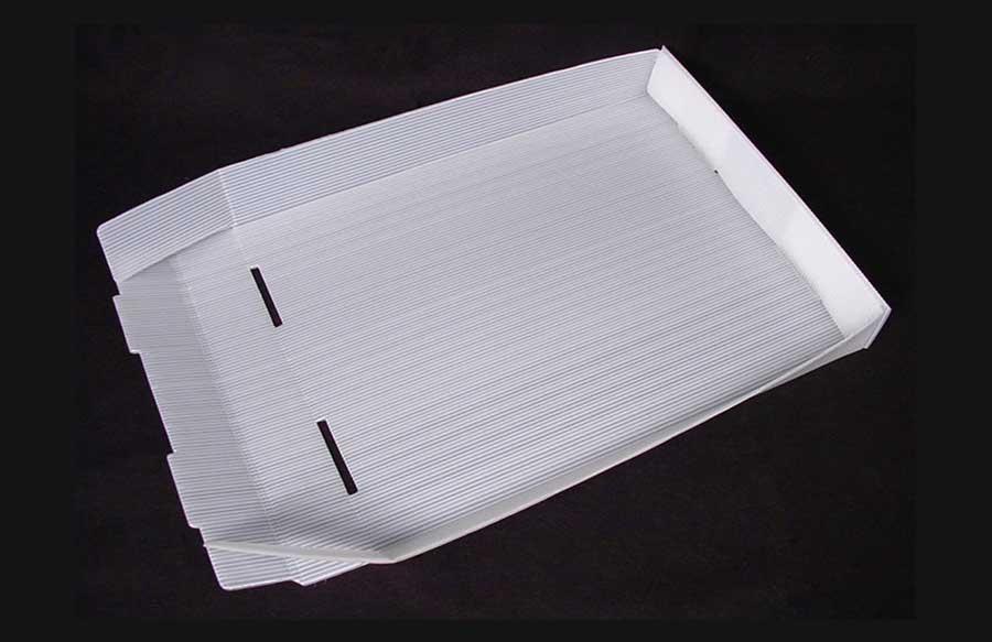 corrugado plastico con aplicaciones en la industria farmaceutica