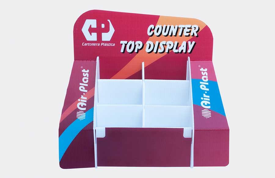 Airplast® Corrugado Plastico - display de productos